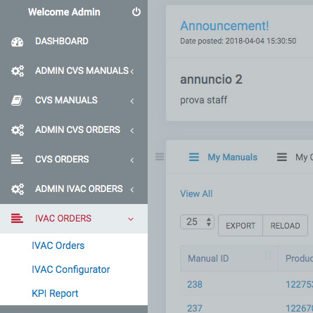 ERP Software - Product Order Configurator